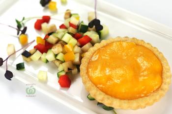 Тарталетка большая с жульеном из овощей