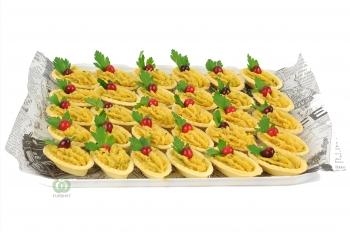 Тарталетки с Хумусом