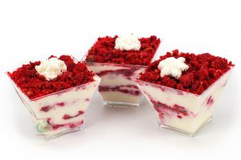 """Десерт """"Красный бархат"""" в стаканчике"""