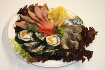 Ассорти рыбных деликатесов «домашнее»