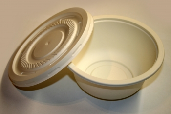 Миска для супа или салата с крышкой