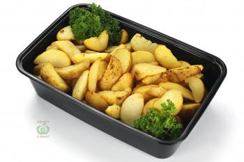 Картофель  деревенский жареный