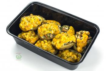 """Картофель """"Реллено де польо"""" с начинкой из курицы"""